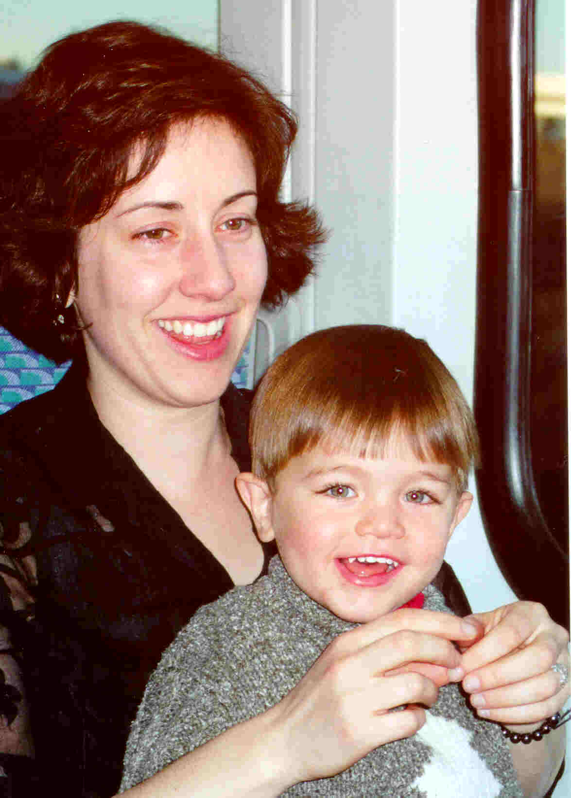 Auntie Eleanor and 2-year-old Niko